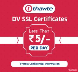 Thawte DV SSL Certificate
