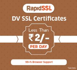 RapidSSL DV SSL Certificate