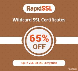 RapidSSL Wildcard SSL Certificate