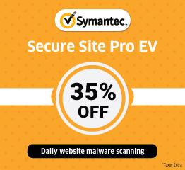 Symantec EV SSL Certificate