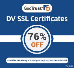 GeoTrust DV SSL Certificate