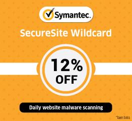 Symantec Wildcard SSL Certificate