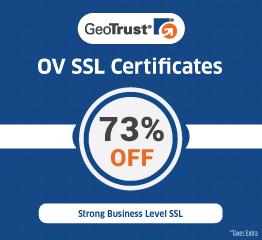 GeoTrust OV SSL Certificate