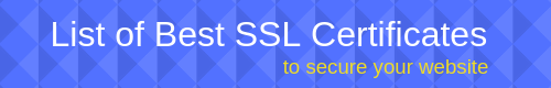List_of_Best_SSL_Certificate
