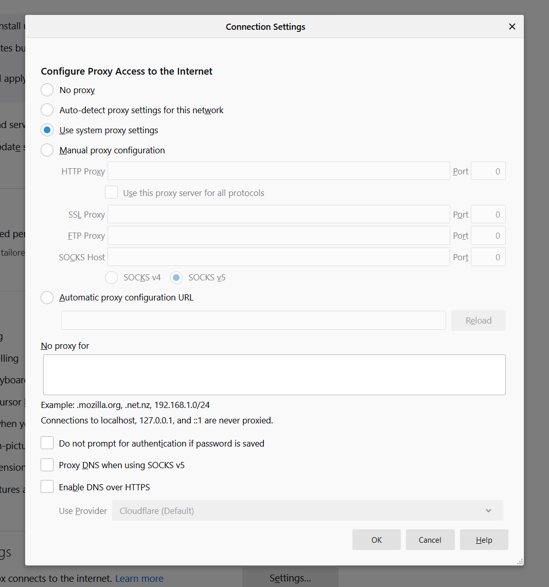 Enable DNS over HTTPS in Firefox