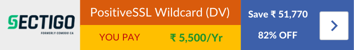 Sectigo Wildcard SSL