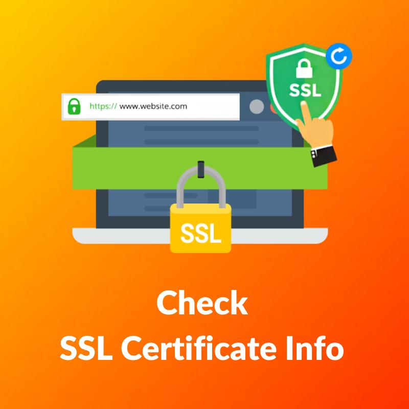 SSL Certificate Information